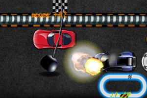 《铁球砸汽车》游戏画面1