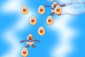 《空中孵幼鹰》游戏画面1