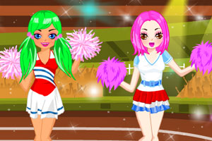《奥运啦啦队》游戏画面1
