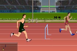 《2012奥运跨栏》游戏画面1