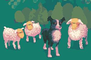 《牧羊犬赶羊》游戏画面1