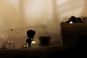 《夜路下的小孩儿》游戏画面1
