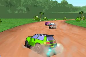 《3D疯狂漂移赛车》游戏画面1