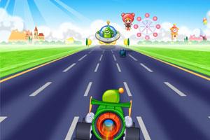 《小美火箭车》游戏画面1
