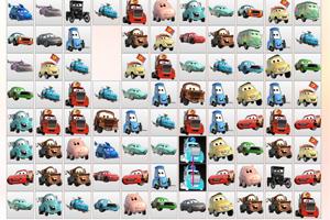 《汽车总动员连连看》游戏画面1