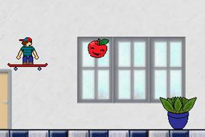 《帅气男孩滑板》游戏画面1