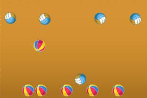 《沙滩排球对撞》游戏画面1