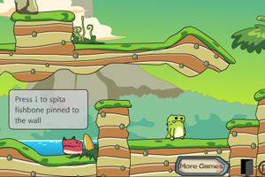 《红绿恐龙回家》游戏画面1