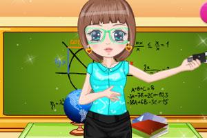 《美丽老师》游戏画面1