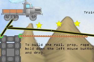 《搭建峡谷桥梁2》游戏画面1