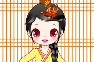 《传统韩国女孩》游戏画面1