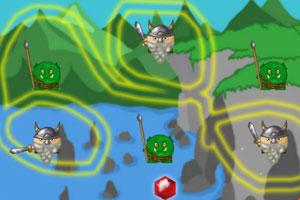 《画线小矮人》游戏画面1