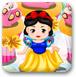 迪士尼公主蛋糕