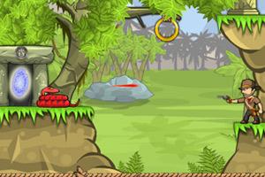 《冒险王约翰逊》游戏画面1