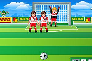 《乐高踢足球》游戏画面1
