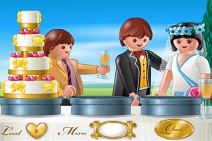 乐高婚礼蛋糕