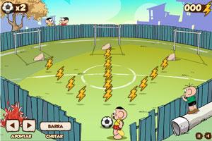 《泡泡踢足球》游戏画面1
