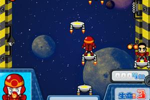 《萌男太空跳跃》游戏画面1
