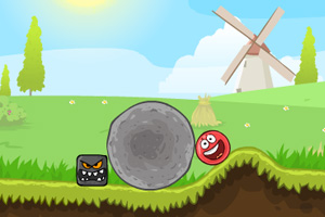《小红球闯关4》游戏画面1