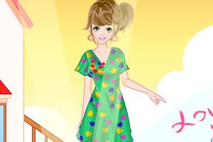 《花园温柔女孩》游戏画面1