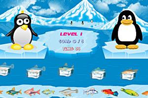 《馋嘴的企鹅》游戏画面1