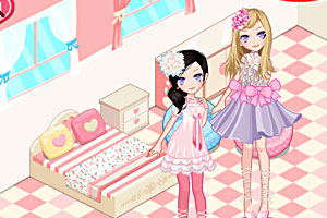 《女孩新卧室》游戏画面1