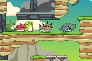《红绿恐龙回家中文版》游戏画面1