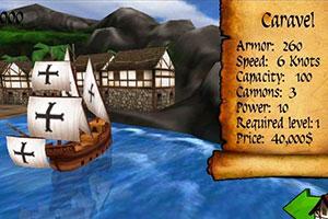 《3D大航海世界》游戏画面1