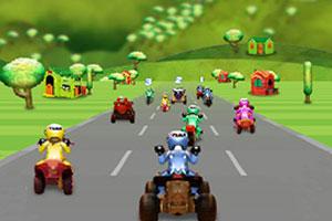 《玩具车竞赛赛》游戏画面1