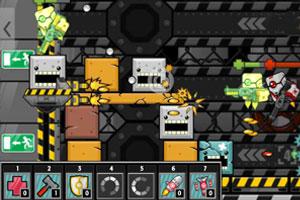 《太空堡垒战》游戏画面1