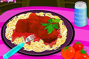 《美味意大利肉丸面》游戏画面1