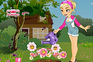《美丽的花圃》游戏画面1