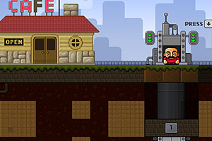 《挖地老矿工》游戏画面1