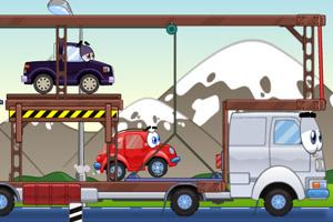 《小汽车总动员》游戏画面1