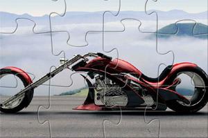 《奇异摩托车拼图》游戏画面1
