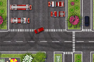 《消防车救援》游戏画面1