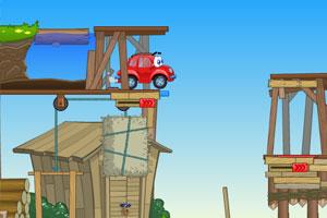 《小汽车总动员选关版》游戏画面1