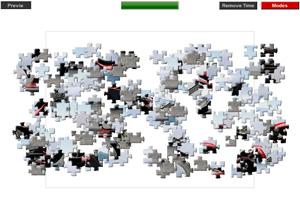《哈雷摩托拼图》游戏画面1