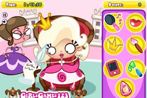《公主也偷懒》游戏画面1