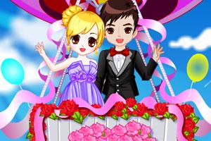 《空中浪漫婚礼》游戏画面1