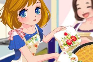 《姑娘烤馅饼》游戏画面1