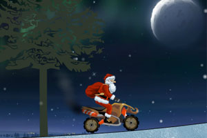 《圣诞老人摩托3》游戏画面1