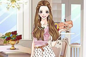 《时尚中长裙》游戏画面1