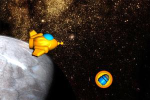 《橙色战斗机》游戏画面1