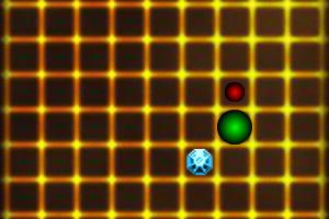 《躲红点找钻石》游戏画面1