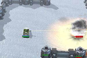 《坦克大战3D版》游戏画面1