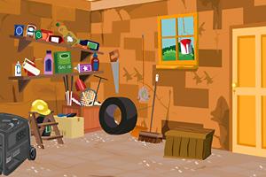 《逃出安静的储物间》游戏画面1