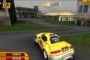 《城市中的出租车》游戏画面1