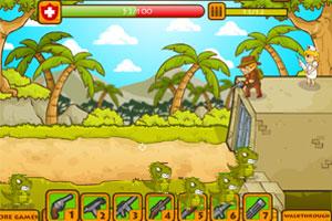 《恐龙大暴乱》游戏画面1
