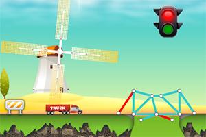 《桥梁建造师选关版》游戏画面1
